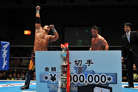 NJPW 40th anniversary Tour Roa...