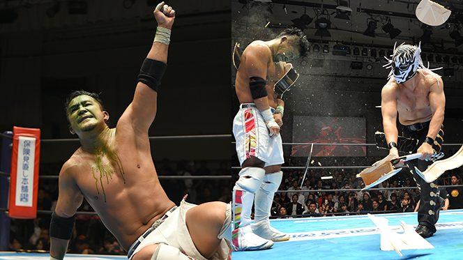 BUSHIの猛攻を食い止めて、KUSHIDAが辛口初防衛!試合後はデスペラードがギタークラッシュで挑戦状!!【7.27後楽園結果】