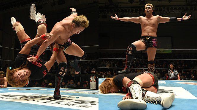 「ドームのメインは俺の舞台! おまえは手ぶらで帰れ!」試合後、オカダが内藤を完全KO!!