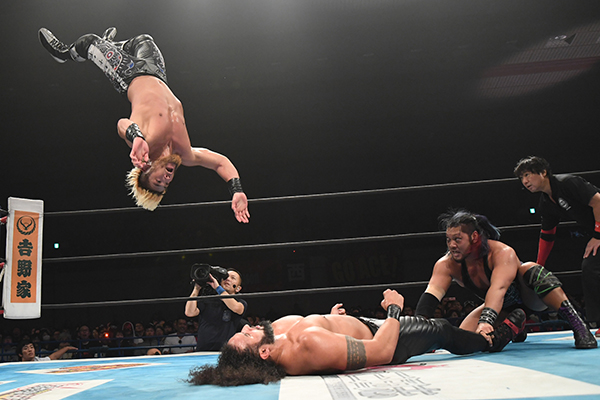 "NJPW: ""World Tag League 2018"" Los Ingobernables de Japón triunfan 11"