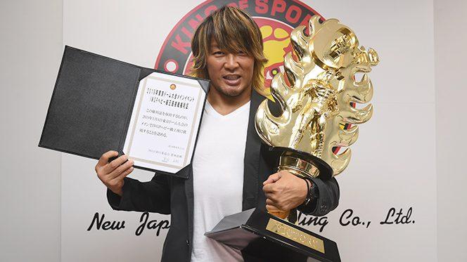 『G1』覇者・棚橋が1.4東京ドームIWGP挑戦権利証を獲得! 完全復活へ向け、なんとオカダを挑戦者に逆指名!