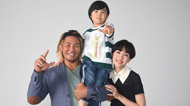 公開目前! 棚橋弘至選手、木村佳乃さん、寺田心くんにインタビュー!!