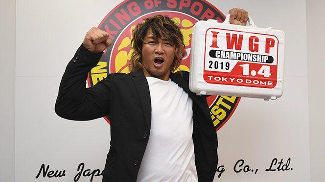 棚橋弘至が4年ぶり4度目、平成最後の『プロレス大賞』MVPを受賞!