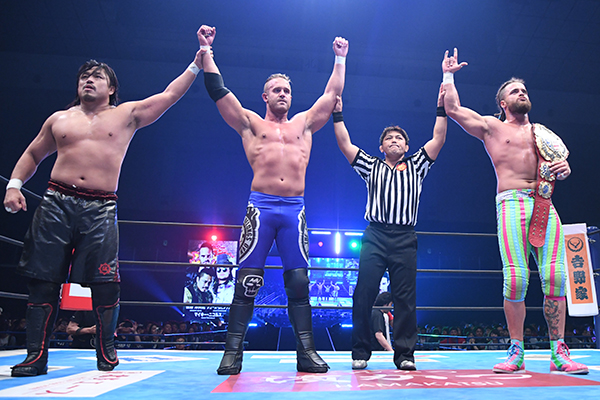 NJPW: Wrestling Dontaku 2019 Día 1 Taichi triunfa, Dragon Lee retiene 4