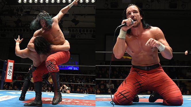冴えわたる悪の連携! 4.29熊本決戦を前に、ジェイが後藤をブレードランナーで撃破!!【4.22後楽園結果】