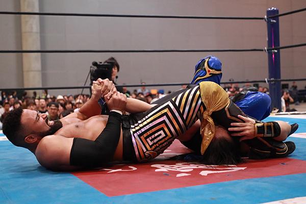 "NJPW: ""Best of the Super Jr. 26"" Día 10 Empate en la cima, Grupo B 8"