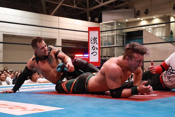 "NJPW: ""Best of the Super Jr. 26"" Día 10 Empate en la cima, Grupo B 11"
