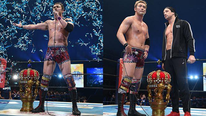 オカダがSANADAを下して『NEW JAPAN CUP』優勝! 4.6MSGでジェイと頂上決戦!!【3.24長岡結果】