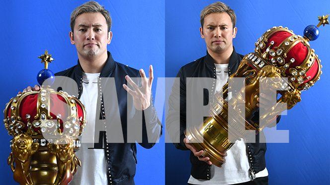 """【スマホサイトで緊急配信】祝!『NEW JAPAN CUP』優勝!オカダ・カズチカ選手の""""撮り下ろし待ち受け""""を配信中!"""