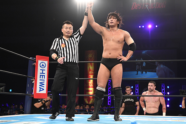 "NJPW: ""Destruction in Beppu 2019"" Sabre recupera su cetro 3"