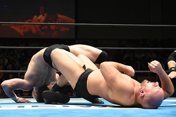 """NJPW: """"Road to Destruction 2019"""" Día 3 White roba cinturón de Naito 1"""
