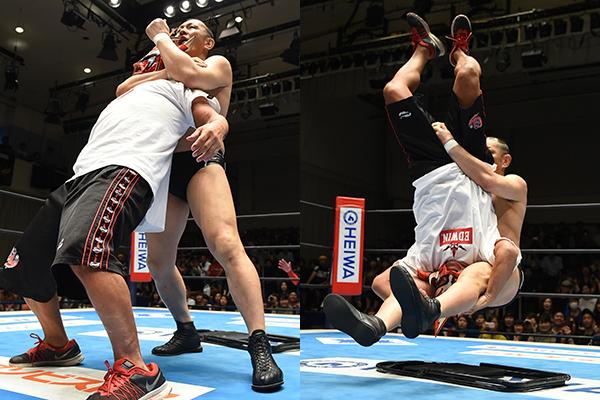 """NJPW: """"Road to Destruction 2019"""" Día 3 White roba cinturón de Naito 4"""