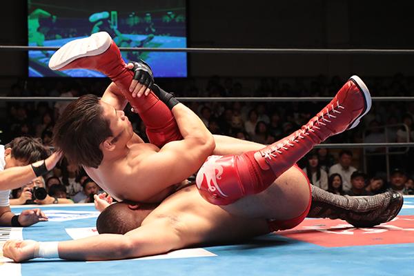 "NJPW: ""Best of the Super Jr. 26"" Día 9 Choque entre mexicanos 6"