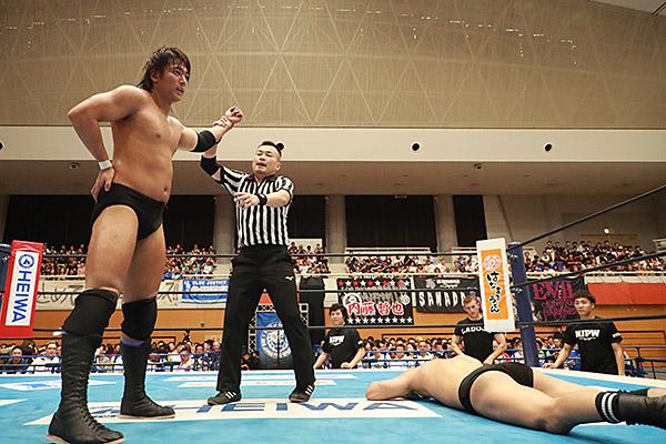 """NJPW: """"Blue Justice IX"""" 35 años de shoot wrestling 3"""