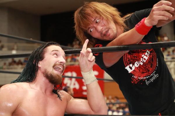 """NJPW: """"Blue Justice IX"""" 35 años de shoot wrestling 5"""