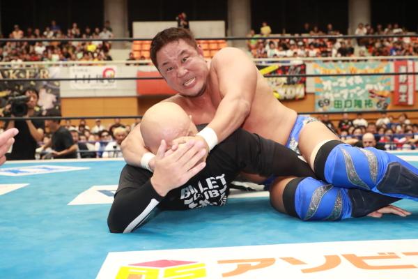 """NJPW: """"Blue Justice IX"""" 35 años de shoot wrestling 7"""