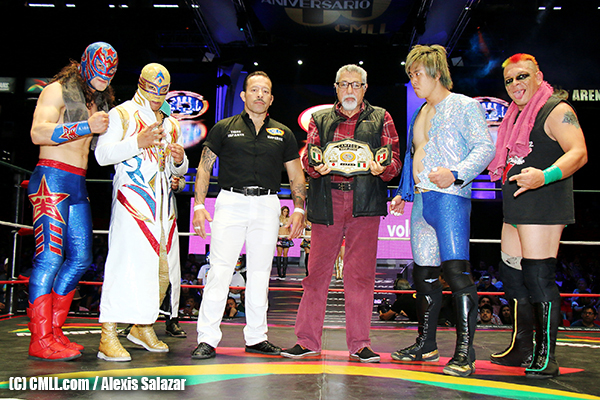 CMLL: Kawato San es nuevo monarca mundial 3