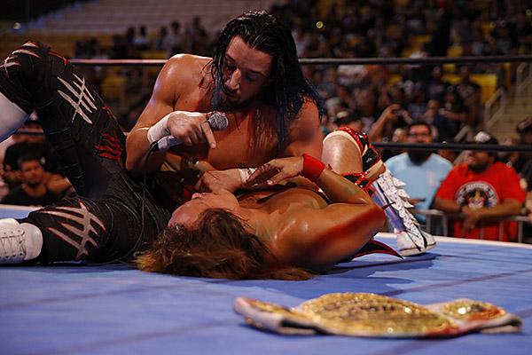 "NJPW: Es oficial, Naito vs. White en ""Destruction in Kobe"" 3"