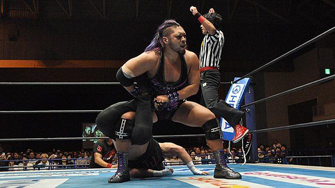 IWGPヘビーを狙うEVILが外道をScorpion葬!!「東京ドームをダークネスに染め上げてやる」【9.19鳥取結果】
