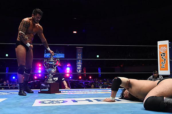 """NJPW: """"Destruction in Kobe 2019"""" White somete a Naito 3"""