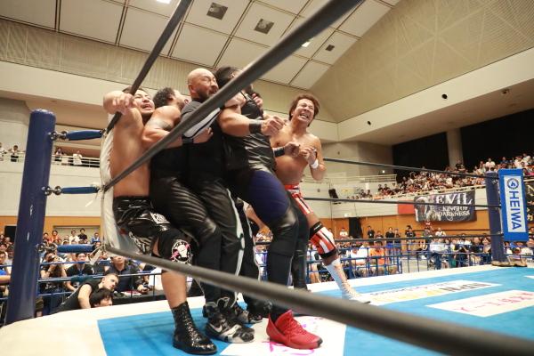 """NJPW: """"Blue Justice IX"""" 35 años de shoot wrestling 6"""