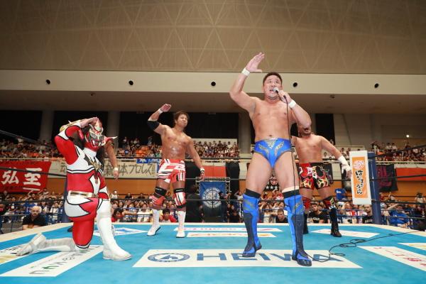 """NJPW: """"Blue Justice IX"""" 35 años de shoot wrestling 8"""