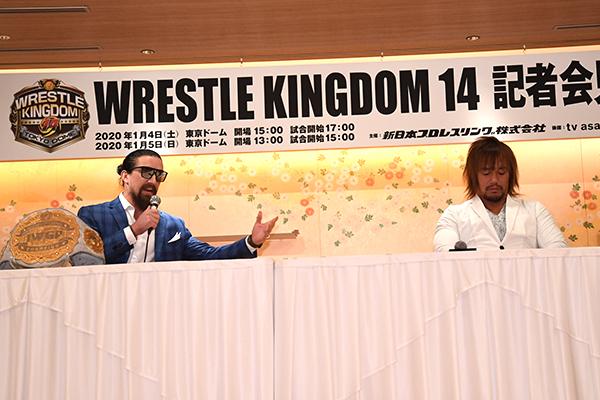 NJPW: Más luchas para WK14, SI habrá lucha por 2 campeonatos 1