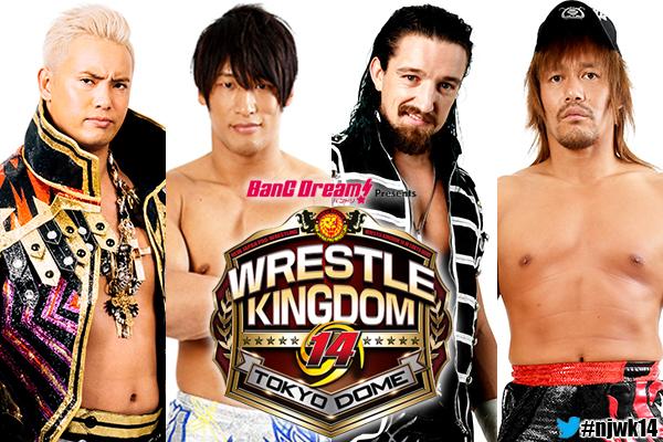 NJPW: Carteles para Wrestle Kingdom 14 14