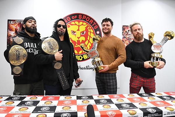 NJPW: Carteles para Wrestle Kingdom 14 4