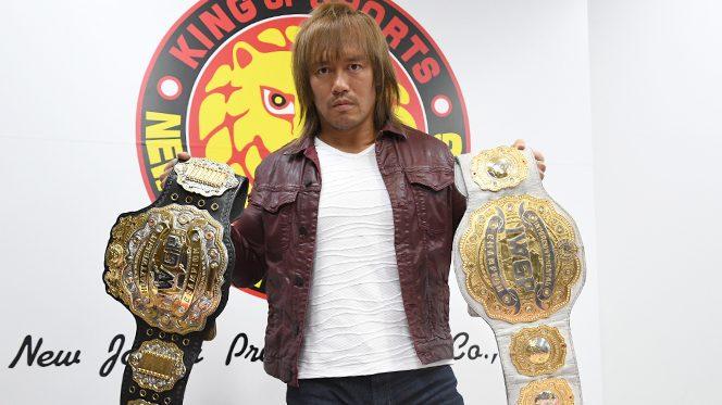 """""""二冠王者""""内藤がKENTAの挑戦受諾も「二冠戦の4人に比べると、""""3枚""""は落ちる」と格下扱い!"""
