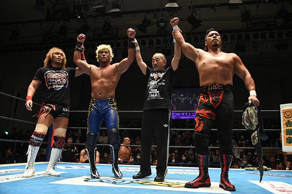 NJPW: El retiro de Tiger Hattori 3