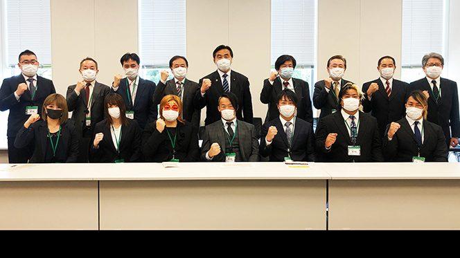 衆議院議員・馳浩氏へプロレス界全体からの要望書を提出!  【新日本プロレス、全日本プロレス、DDTプロレス、プロレスリング・ノア、ディアナ、東京女子プロレス、スターダム】