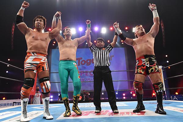 """NJPW: """"Together Project Special"""" El retorno a la actividad 1"""