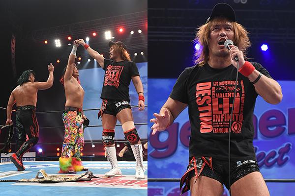 """NJPW: """"Together Project Special"""" El retorno a la actividad 3"""