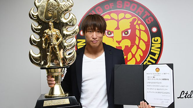 「2つのベルトを内藤哲也から獲りたい。これは必ず成し遂げたいです」『G1』2連覇達成!権利証を手にした飯伏が野望を語る!