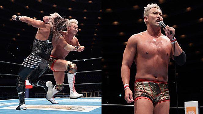 オカダが渾身のレインメーカーでEVILを撃破!!『NJC』優勝とIWGP奪還を宣言!!【2.27大阪結果】