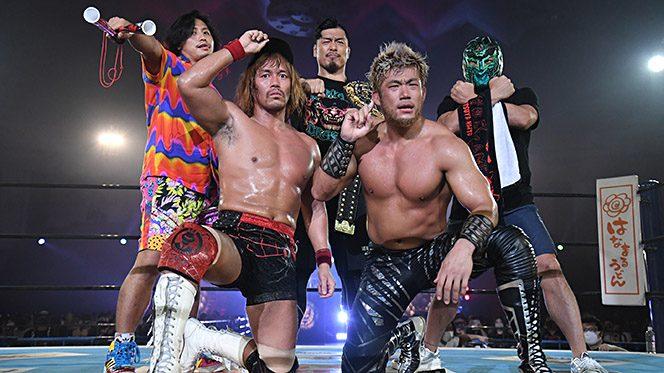 一進一退のIWGPタッグ戦は内藤&SANADAが劇的初戴冠!試合後、タイチ&ザックが7.25東京ドームで再戦を要求!!